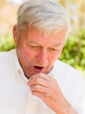 Adult cough whooping
