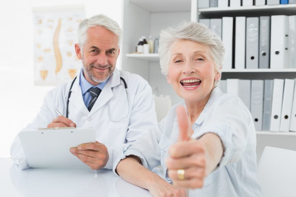Doctors refer to PhysicianOne Urgent Care - Happy patient